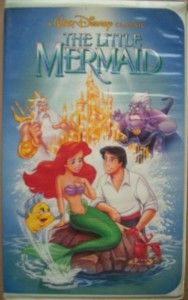 Walt Disney Little Mermaid VHS Banned Cover Recalled