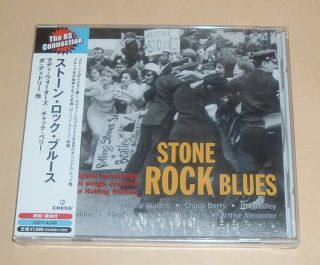 Buddy Holly Howlin Wolf Muddy Waters Stone Rock Blues Japan Promo CD