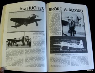 HOWARD HUGHES 1937 RECORD FLIGHT ACROSS THE U.S. PICTORIAL L.A. to N.Y
