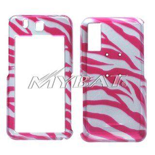 SAMSUNG T919 Behold Zebra Skin Hot Pink 2D Silver Phone
