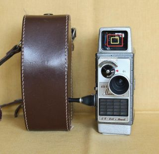 Autoset 624 EE G B Bell Howell 8mm Movie Camera Great Britain Works
