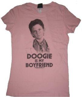 Doogie Howser Is My Boyfriend Pink Juniors Shirt DGJS1012