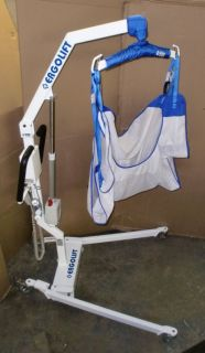 ERGOLIFT Electric Mobility PATIENT LIFT Transfer Hoyer w Sling remote