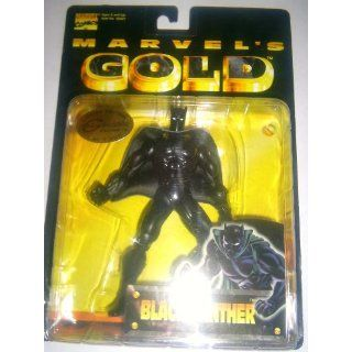 Marvels GOLD limited edition BLACK PANTHER toy biz Toys