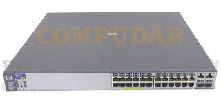 HP ProCurve 2626 PWR Poe J8164A 24 Ports Gigabit Switch