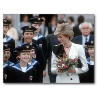 No.193 Princess Diana   Vienna 1986 Post Card