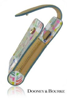 Dooney Bourke Cell Phone Clear Pouch Case w Strap Small Cute
