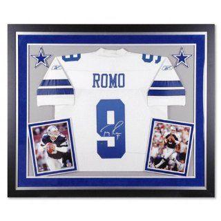 Tony Romo Autographed Jersey  Details Dallas Cowboys