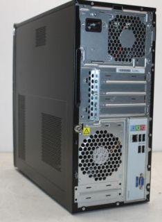 HP 500B Microtower Desktop Computer PC Dual Core