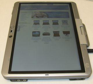 HP EliteBook 2710p 12 Notebook Tablet Laptop 1 2GHz Dual Core Duo
