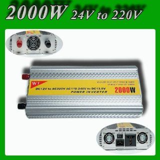 Meind Modified sine wave power inverter 2000W DC 24V to AC