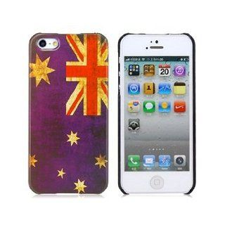 Retro Australian Flag Pattern Protective Case for iPhone 5