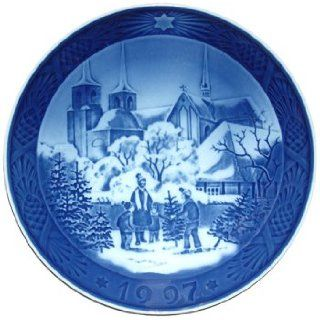 Royal Copenhagen Annual Hand Decorated Christmas Plate