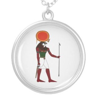 Ra the Ancient Egyptian God of the Sun and Kings Necklaces