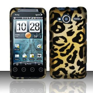 HTC EVO Shift 4G Brown Cheetah Hard Phone Cover Case