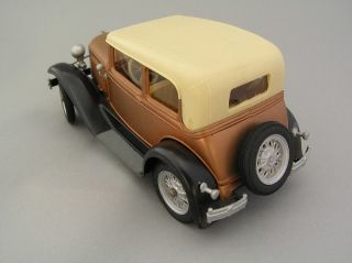 Hubley Painted Mint Ford Model A Coupe Kit 1960s