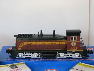Atlas O 3 Rail B M Switcher Freight Cars