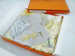 35 x35 Scarf Fetes Venitienne by Hubert de Watrigant in Box