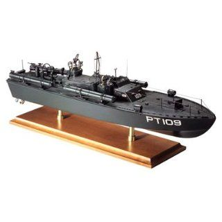 PT 109 WW II John F. Kennedy Inch Wood Model Ship: Toys