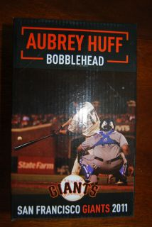 Aubry Huff Bobblehead San Francisco Giants SGA