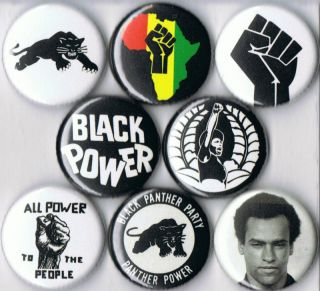 Buttons Pins Badges Pinback Button Huey Newton Political