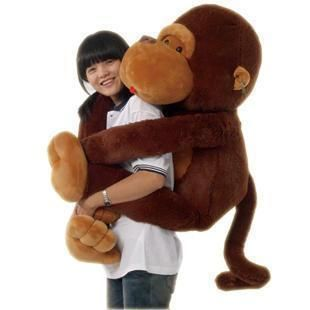 Giant Huge Big Stuffed Animal Soft Plush Monkey Doll Plush Toys