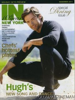 Hugh Jackman in New York Magazine November 2011