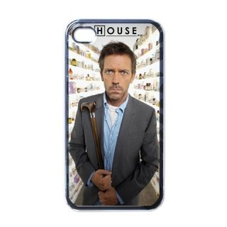 Hugh Laurie House MD iPhone 4 Hard Case Cover