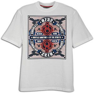 Eight 732 Yacht Club S/S T Shirt   Mens   Casual   Clothing   White
