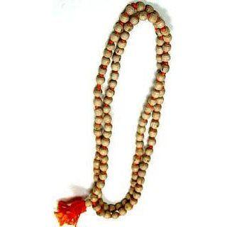 Tulsi 108 Beads Religious Rosary (Japa Mala) Bead Size 8mm
