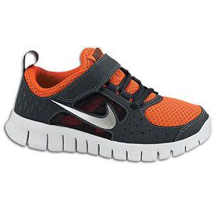 Nike Free Run 3   Boys Preschool   Team Orange/Anthracite/Reflective