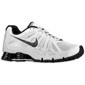 Nike Shox Turbo+ 13   Mens   Summit White/Black/Pure Platinum/Cool