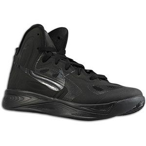 Nike Hyperfuse   Mens   Basketball   Shoes   Black/Dark Grey