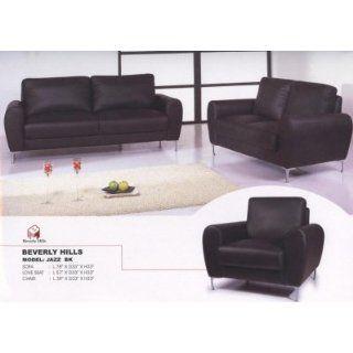 Jazz Leather Sofa, Loveseat & Chair Set Jazz Leather Sofa