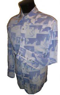 Cadzoots Handmade Retro Western Cowboy Shirt XL Pinup