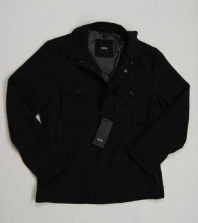 Hugo Boss Black CHELESTE1 US Black Jackets New $295