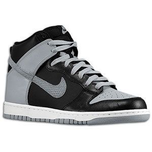 Nike Dunk High   Mens   Basketball   Shoes   Black/Wolf Grey/White