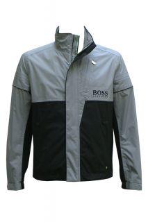 HUGO BOSS Black Grey Joriss Pro2 2 PRO EDITION Golf Jacket Sweatshirt