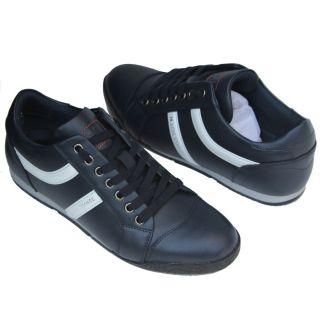 Hugo Boss ORANGE Label Sneakers Navy Blue Mens Shoes 13 46 Trainers