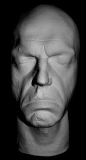 Hugo Weaving Life Mask Matrix Agent Smith from The Matrix in Light