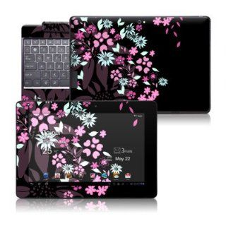 Dark Flowers Design Skin Decal Cover Sticker for Asus