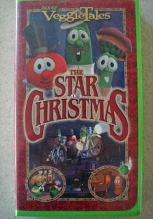 Big Ideas Veggie Tales The Star of Christmas Video VCR Tape VHS