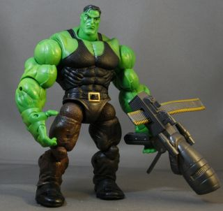 Toy Biz Marvel Legends Hulk Classics Smart Hulk RARE Loose Lot