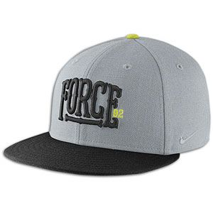 Nike Force Snapback Cap   Mens   Casual   Clothing   Wolf Grey