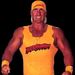 Hulk Hogan. This is an officially licensed Hulk Hogan t shirt costume