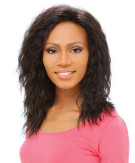 100 Human Hair Sensationnel Human Hair Lace Wig LH Eva F2 27