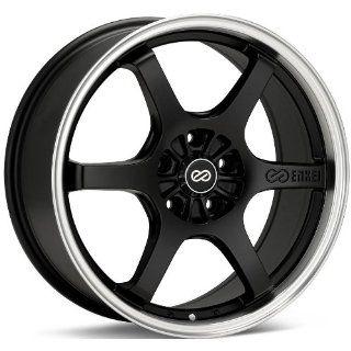 17x7.5 Enkei SR6 (Matte Black) Wheels/Rims 5x114.3/4.5 (473 775 6540BK
