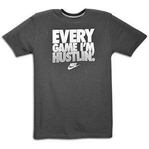 Nike Graphic T Shirt   Mens   Casual   Clothing   Black/Black/Grey