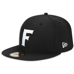 New Era 59Fifty College Black & White Cap   Mens   Florida   Black