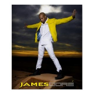 James Dore Poster Arms Wide Yellow Jacket